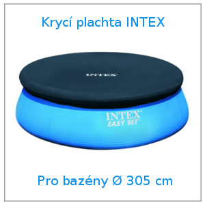 Krycí plachta intex